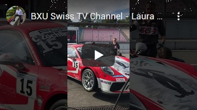 BXU Swiss TV - Laura Chaplin in Hockenheim