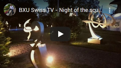 BXU Swiss TV - Night of the sculptures
